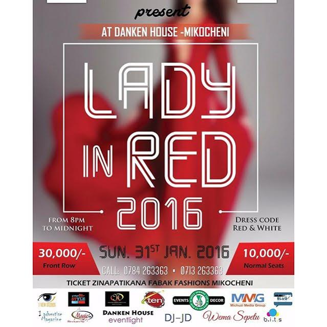 LADY IN RED 2016
