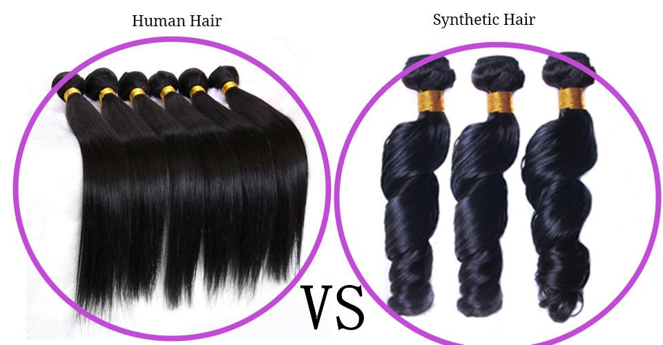 TOFAUTI KATI YA HUMAN HAIR WEAVING NA SYNTHETIC HAIR WEAVING