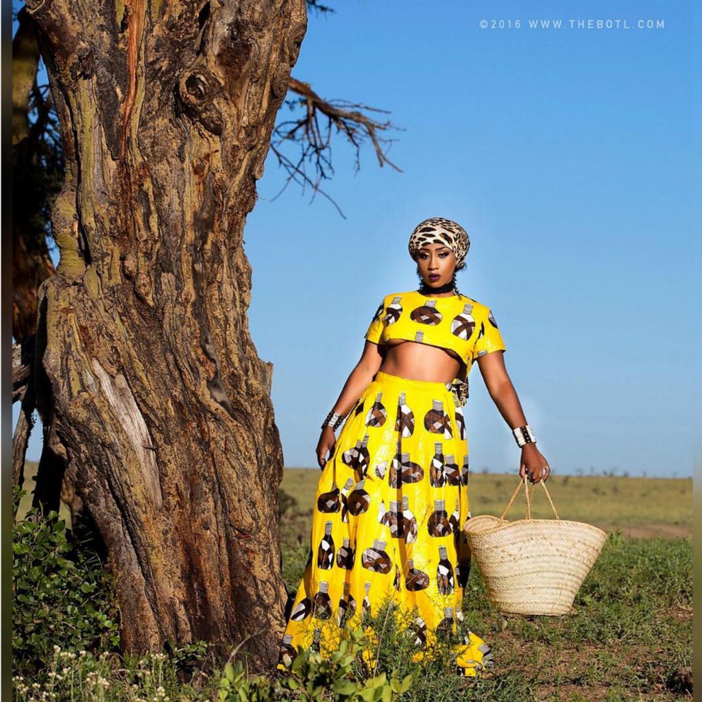 VICTORIA KIMANI'S NEW PHOTO SHOOT STYLE IS BOMB