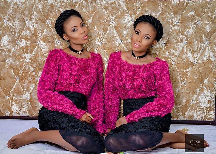 Taye Odenusi na Miss Feferity Fashionable Twins