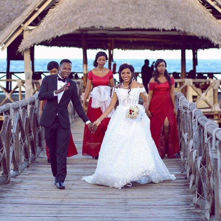 NEWLY WEDS – MR & MRS MABESTE