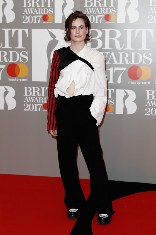 WORSE DRESSED AT THE BRIT AWARDS 2017