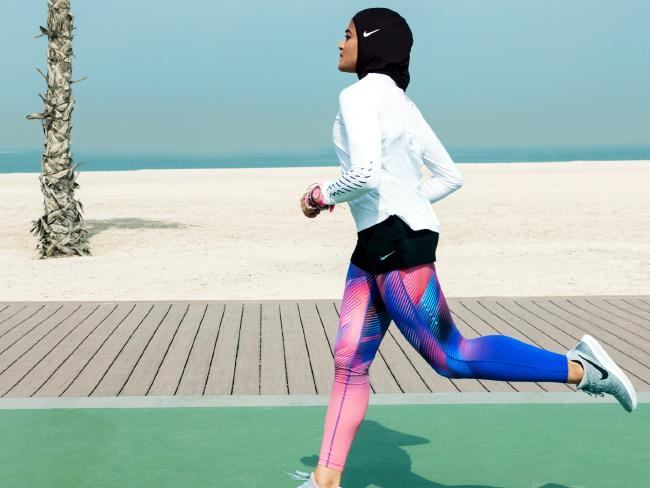 NIKE LAUNCHES HIJAB SPORTS WEAR & PLUS SIZE WORKOUT LINE