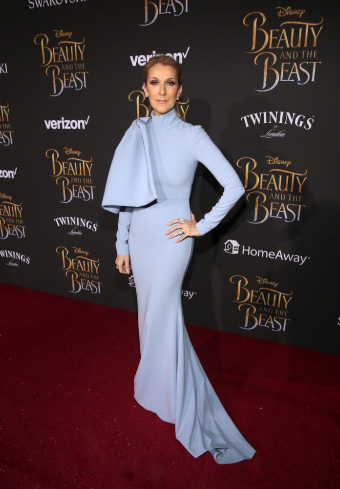 CHRISSY TEIGEN & CELINE DION FOR BEAUTY AND THE BEAST PREMIERE