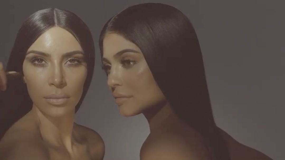 KKW X KYLIE JENNER COSMETIC COLLABORATION