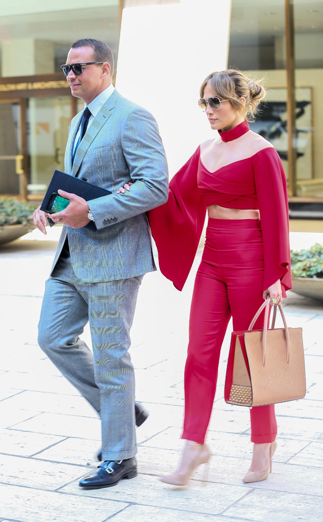 His & Hers Style – Jennifer Lopez and Alex Rodriguez