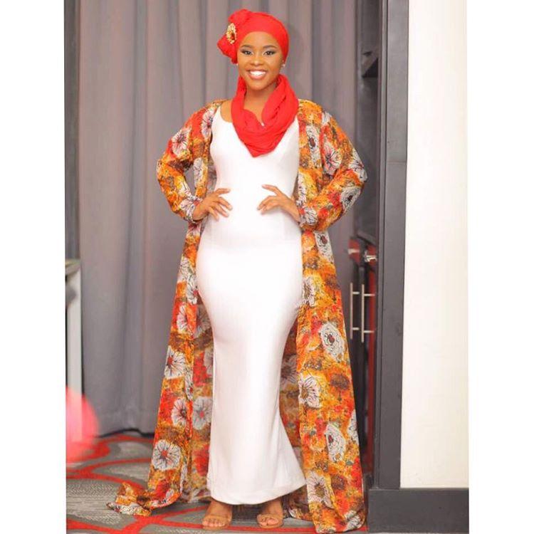 Elizabeth Michael Rocking Elisha Red Label Dress For Iftar Date