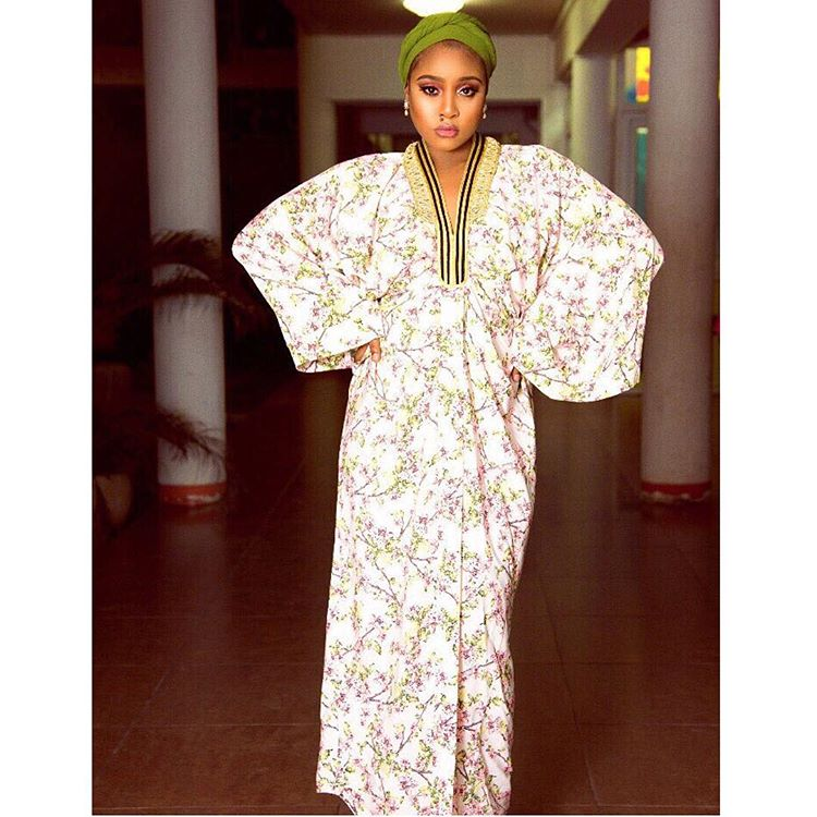Jokate Mwegelo In Grennery FLoral Iftar Outfit