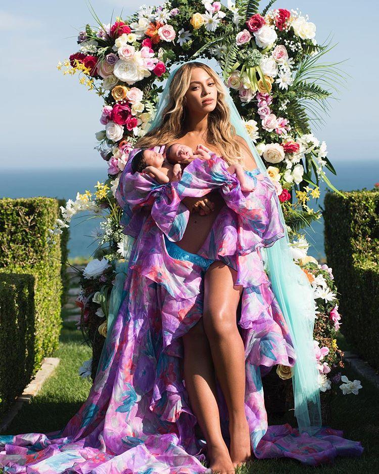Beyonce Ame Recreate Martenity Photoshoot Yake Kutuonyesha Watoto Wake