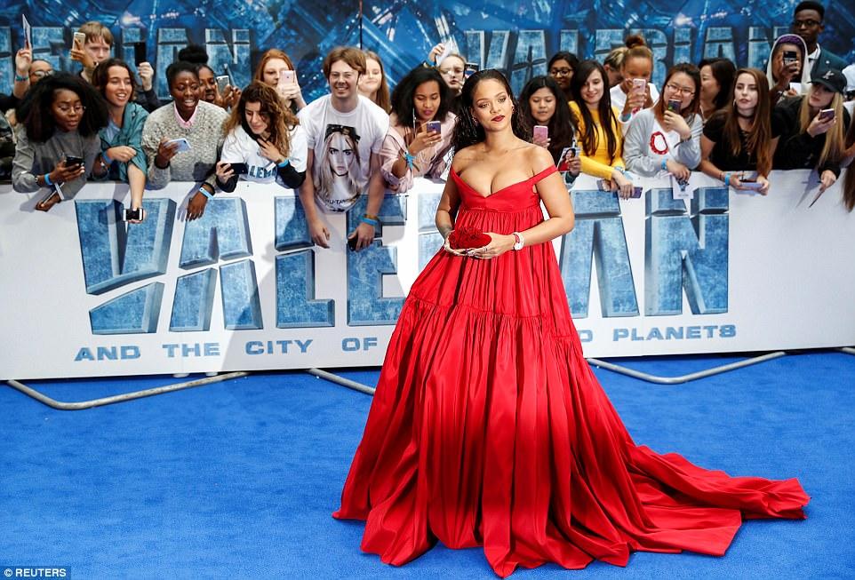 Red Carpet: Valerian Movie Premiere With Rihanna & Cara Delevingne