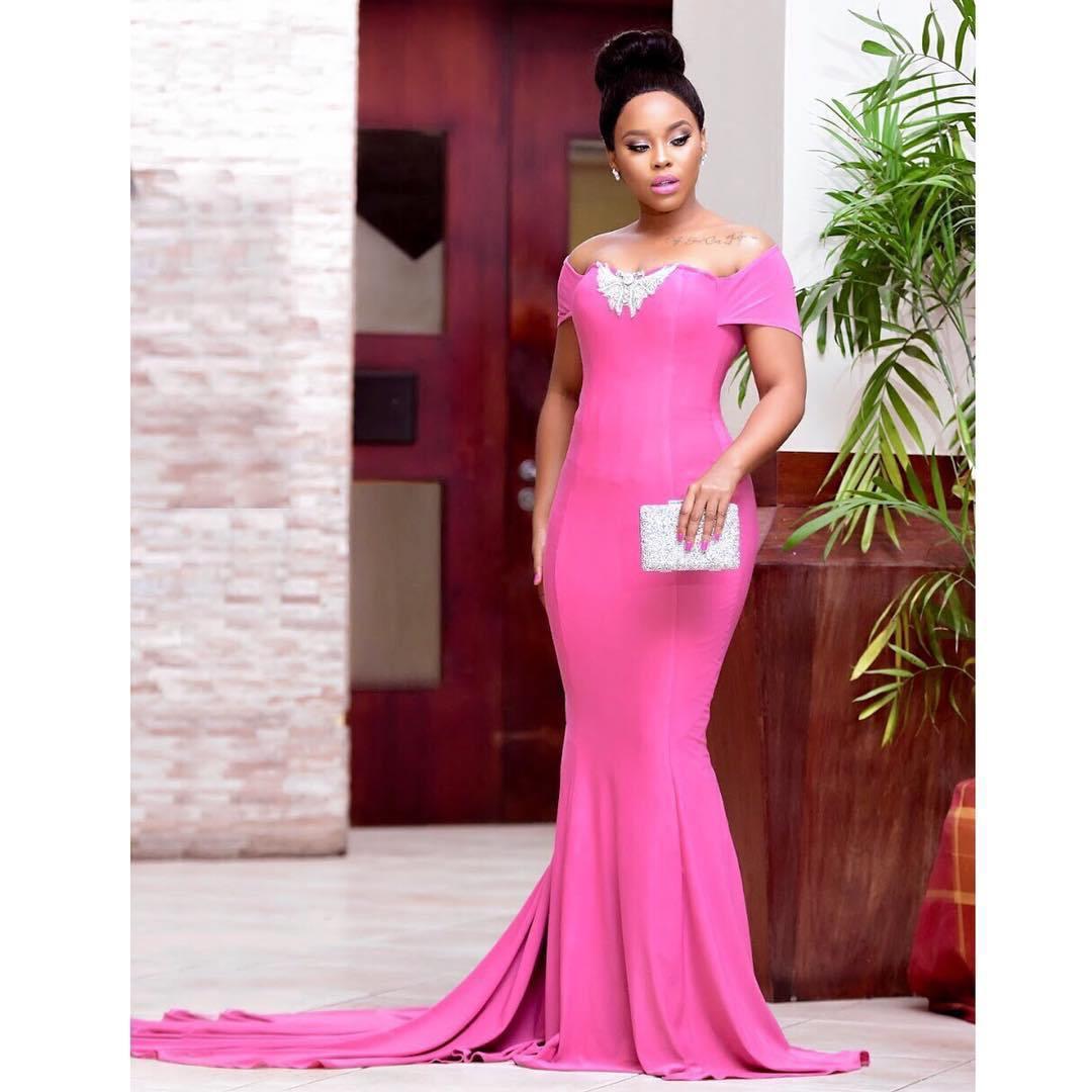 Elizabeth Michael Looks Good In Kyamirwa Dress Until You Zoom In