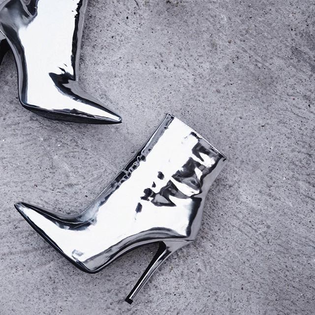 Trend Talk Tuesday: The Silver Ankle Boot