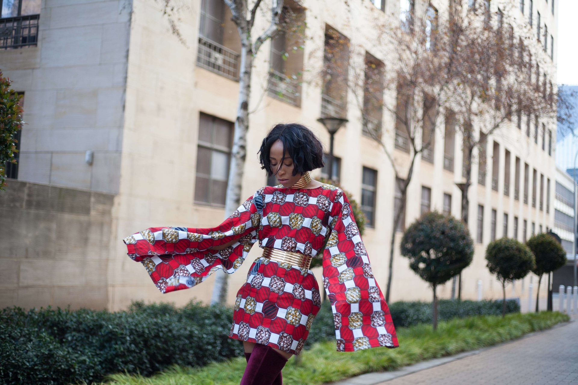 Ankara Slay By Fashion Blogger Simply Palesa