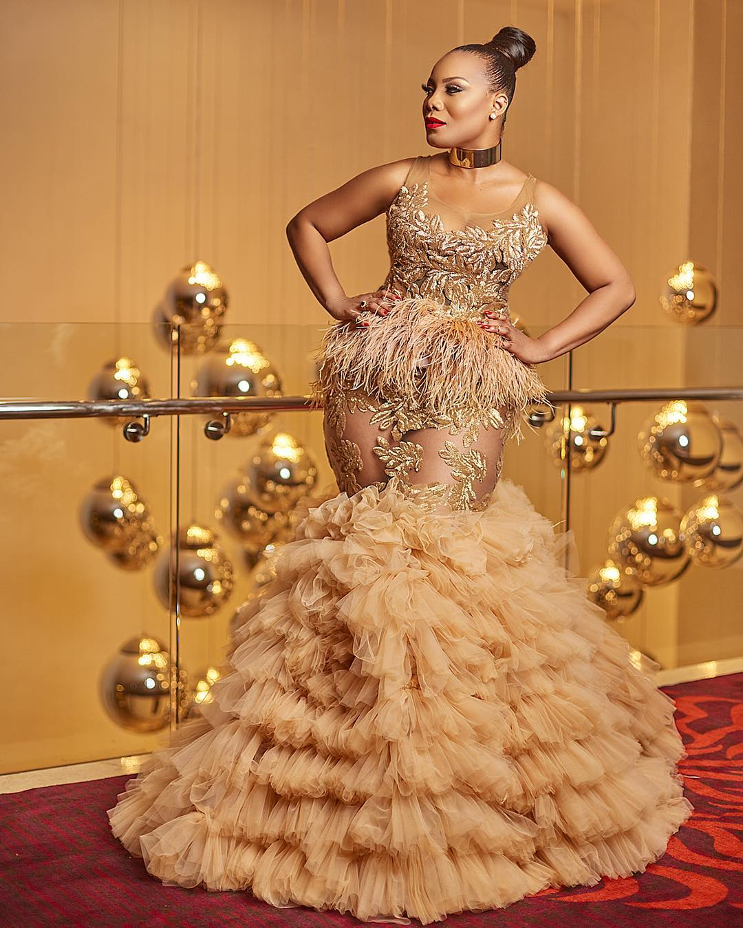 Red Carpet Crush: Ghana Actress Zynell Lydia Zuh