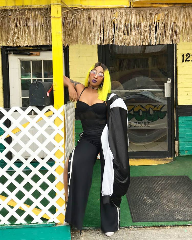Spotted Victoria Kimani, Vanessa Mdee In Track Pant Trend