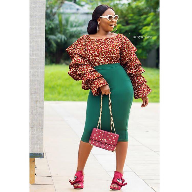 Mishono Ya Kitenge Kutoka Kwa Fashionista's
