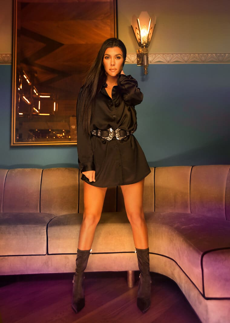 """Kourtney Kardashian Launched Her Own Clothing Line """"Pretty Little Thing"""""""