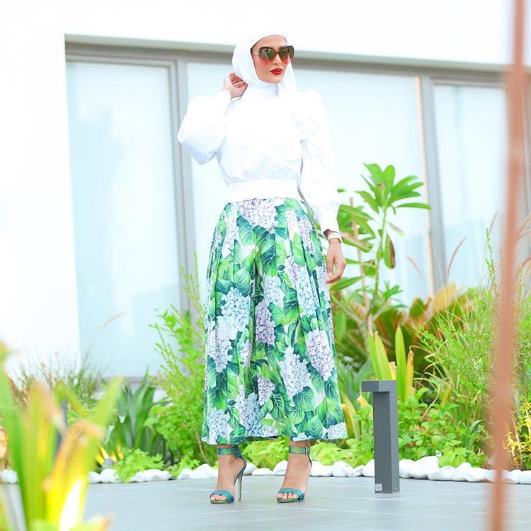 Stylish Outfit For Maulid Day Gathering