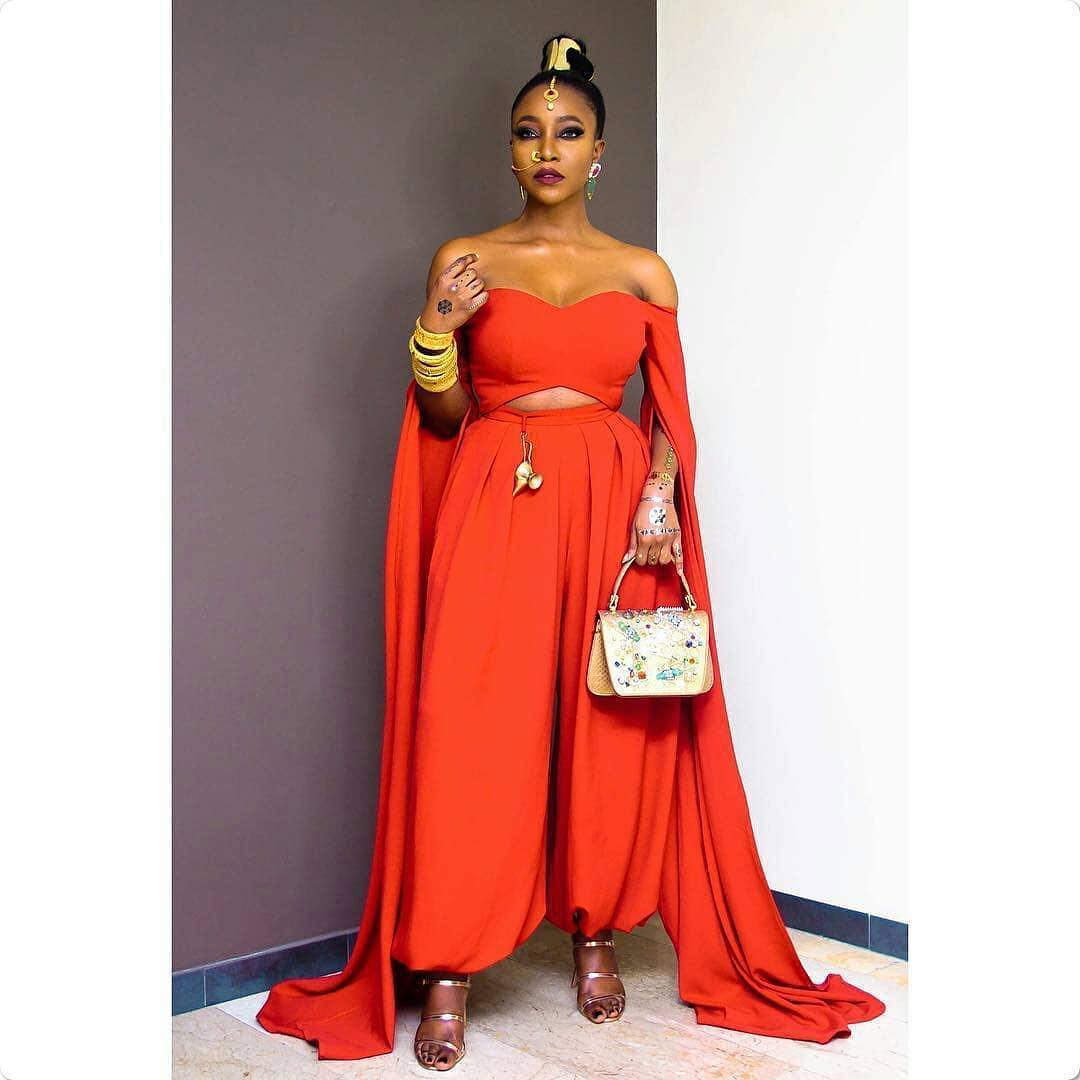 How Nigerian Celebrities Slay The Arabian Night Theme On Movie Premier