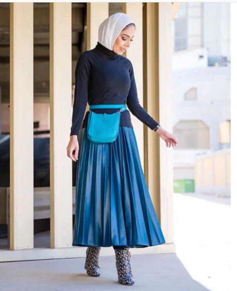 Namna Ya Kustyle Fanny Packs Na Hijab