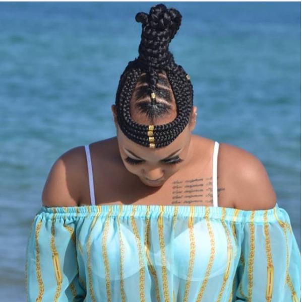 Stitch Braids Styles Ideas From Irene Uwoya