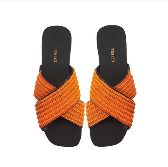 Uzi Isle Collection Beaded Sandals