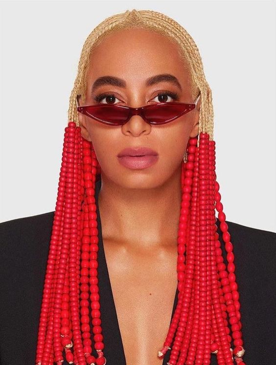 Solange Vs Athi-Afikile Beads Braids Hair Style
