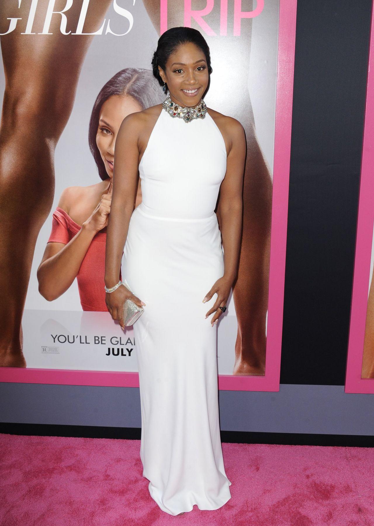 3 Times Tiffany Hadish Re-wear Her White Alexandra McQueen Dress