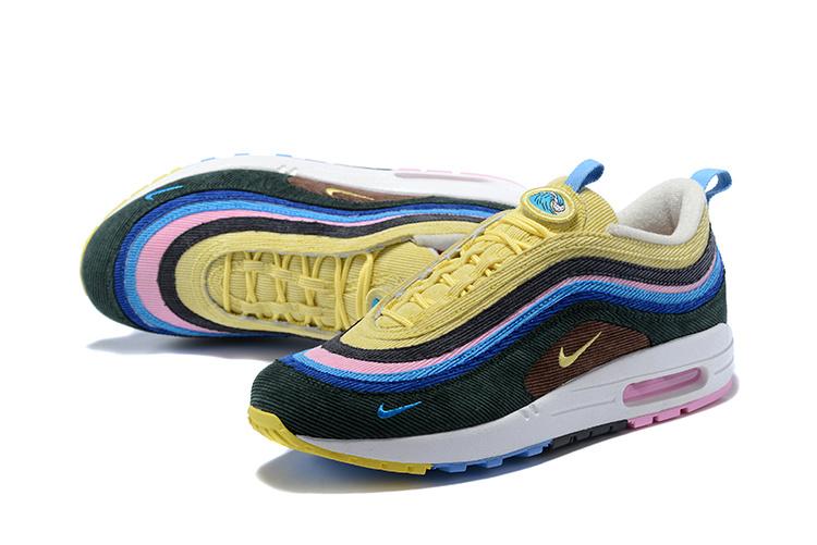 Sean Wotherspoon's Nike Air Max 1/97 Viatu Vinavyo Pendwa Na Watu Maarufu Kwa Sasa