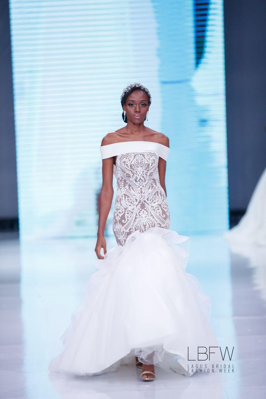 Beautiful Wedding Dresses Tulizoziona Katika Lagos Bridal Fashion Week