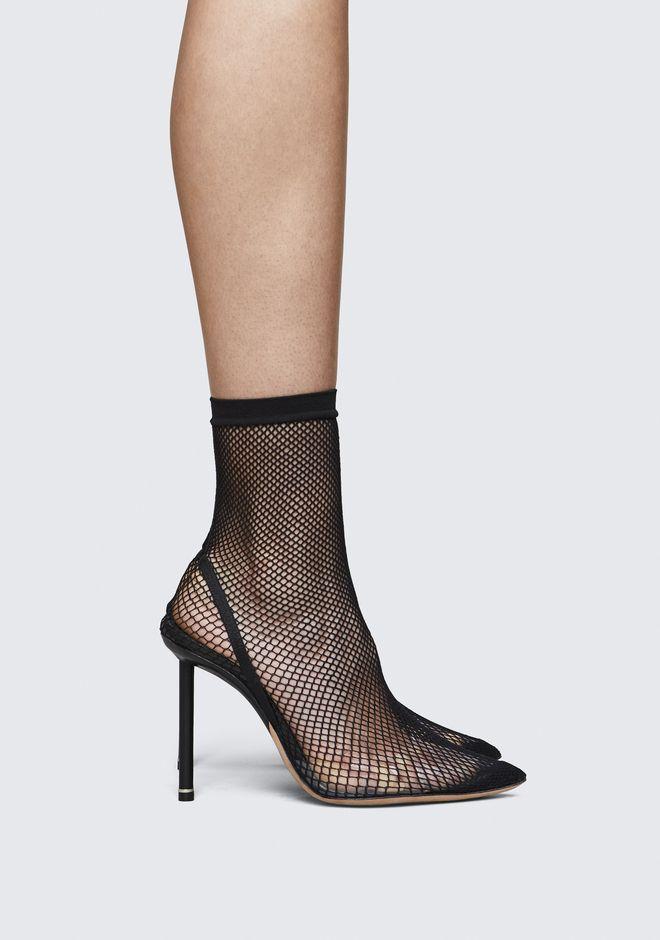 Spotted Kylie Jenner & Beyonce Wearing Alexander Wang Fish Net Heels