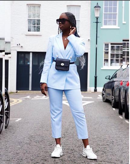 Suit Set  Zipo Kwenye Trend Na Sasa Tunazivaa Katika Rangi Za Pastel