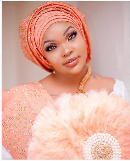 Wema Sepetu In Traditional Nigerian Clothing – Yoruba