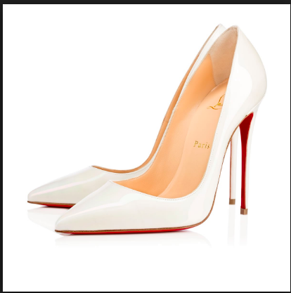 2 Times Fashionista Lavidoz Styled Her 1,650,390/- Christian Louboutin White Pumps