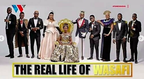 Black Royal Excellence Ndio Theme Ya Outfit Zilizopo Katika Teaser Ya Wasafi Tv Reality Show