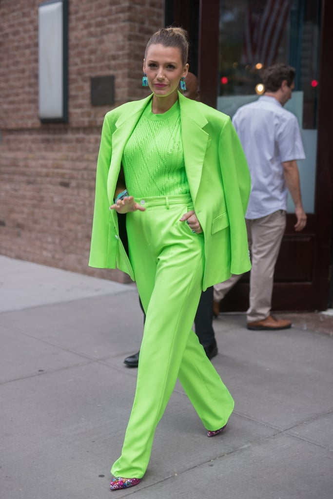 Neon Colors Are Living Their Best Life On The Streets Right Now
