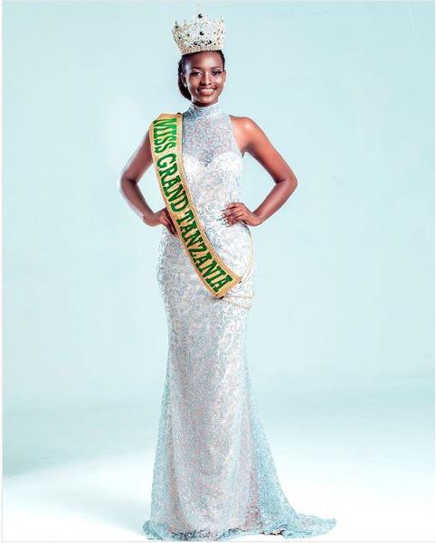 QueenMugesi Ainory Gesase Ndio Miss Grand Tanzania 2018