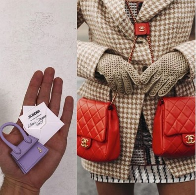 The Tiny Bag By Jacquemus Vs Double Chanel Bag
