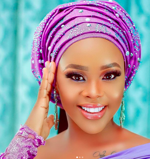 While We Are Counting Down To Her Wedding Elizabeth Michael Stuns As A Wedding Guest