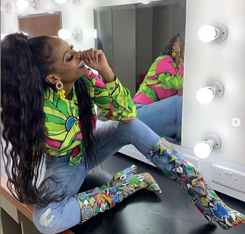 Vanessa Mdee Wins Best Dressed Outfit Of The Week