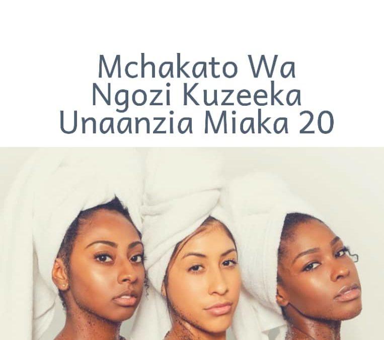 Mchakato Wa Ngozi Kuzeeka Unaanzia Miaka 20