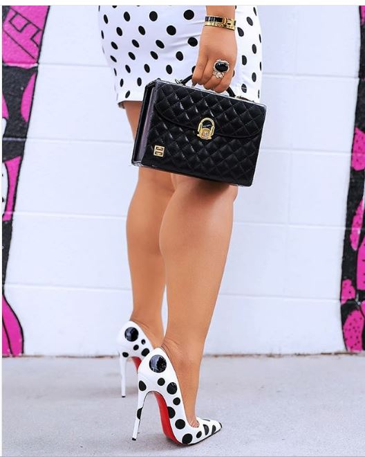 Everyone Is Wearing Polka Dot Shoes