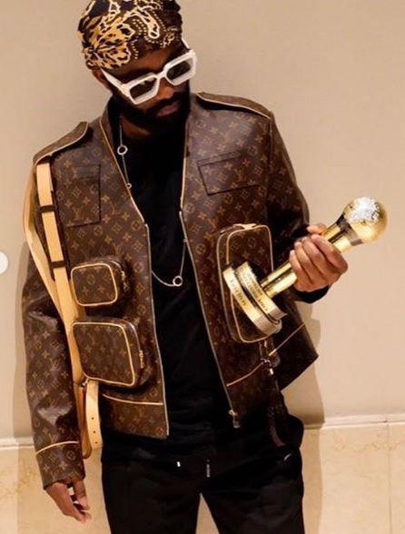 Fally Ipupa Wore Louis Vuitton Monogram Admiral Jacket That Cost $6,550