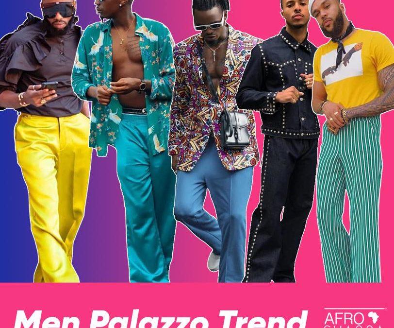Men Palazzo Trend