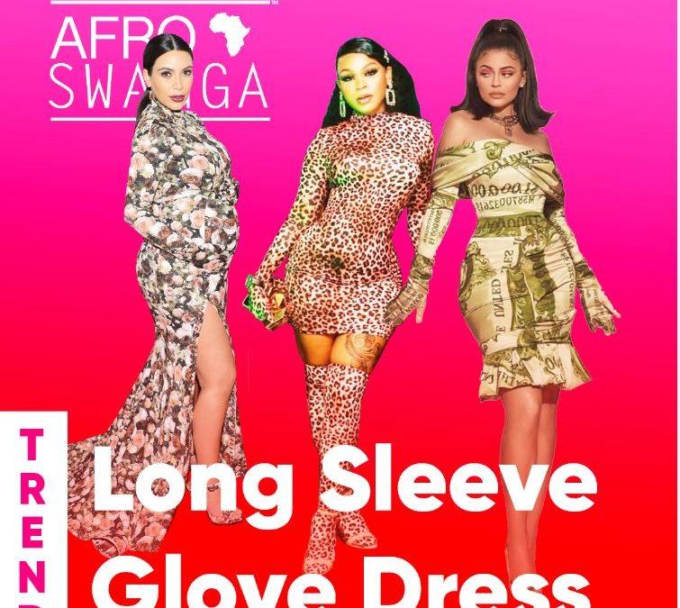 The Long Sleeve Glove Dress Trend