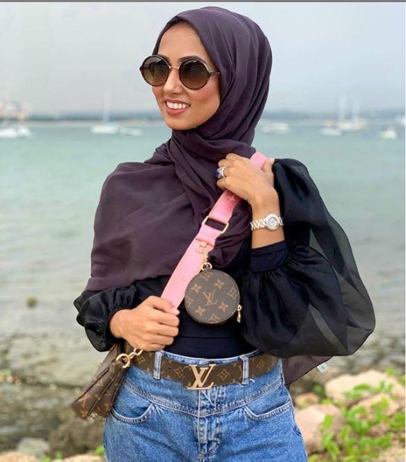 Fatema Dewji Rocking Louis Vuitton Multi-Pochette Bag Yenye Thamani Ya Tzs 3,786,268