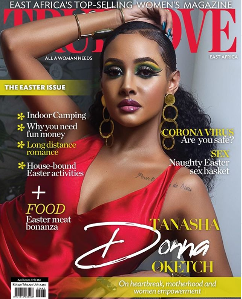 Tanasha Donna On True Love Magazine Cover