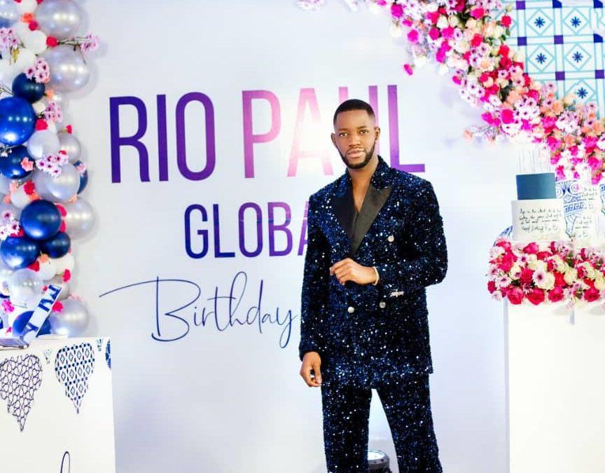 Rio Paul's Virtual Global Birthday Soiree Fashion Review