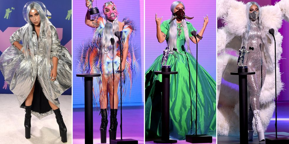 Lady Gaga Showed Us How To Slay With The Mask At The VMA's