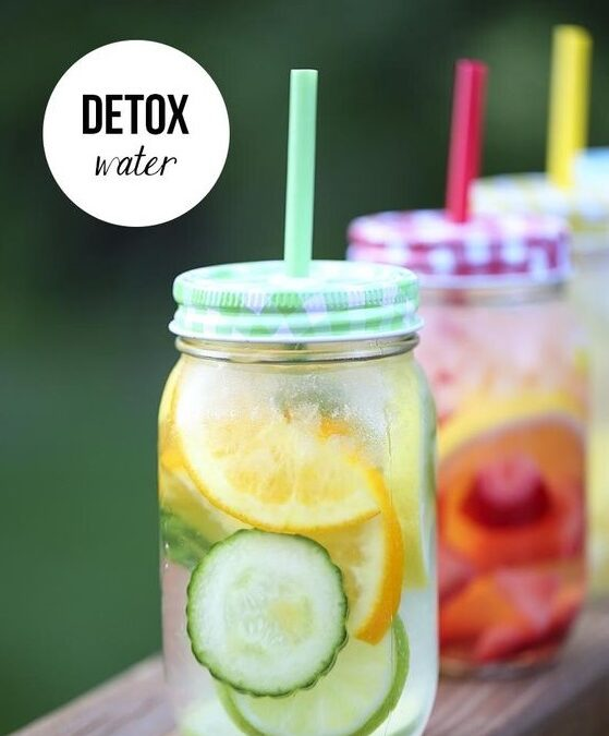 Detox Water For Clear & Glowing Skin